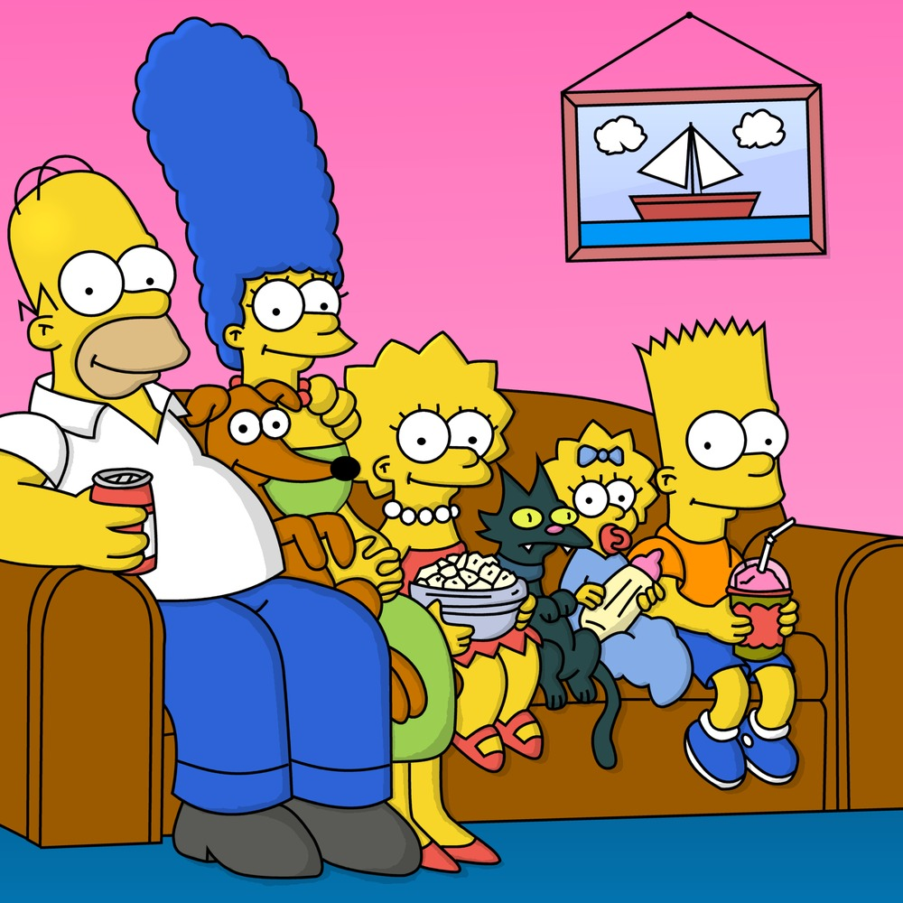the most popular american television show the simpsons and effects on kids